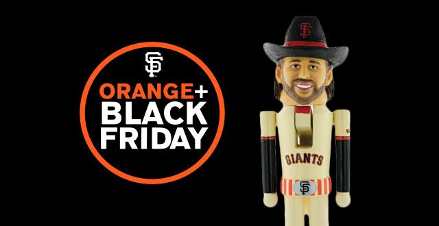 giants unveil orange black friday exclusive promotions events sf station san francisco. Black Bedroom Furniture Sets. Home Design Ideas