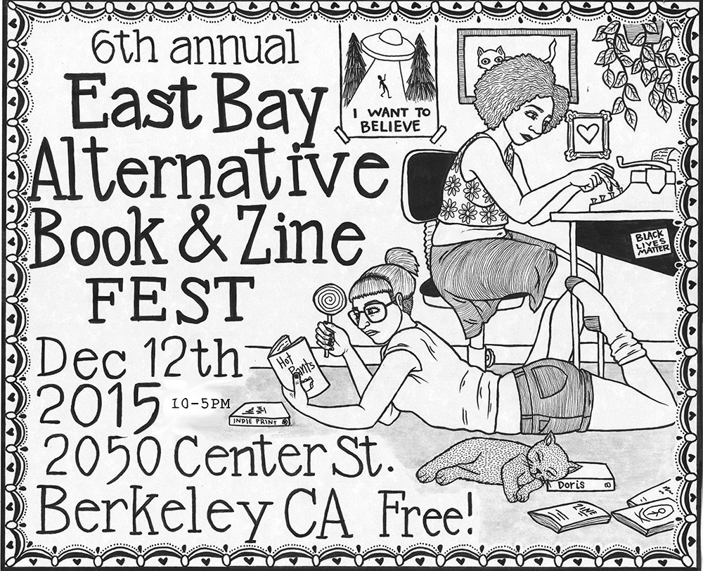 6th Annual East Bay Alternative Book & Zine Fest