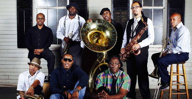 "Heron Arts presents ""The New Orleanian"" Street Party with Red Truck Gallery & Rebirth Brass Band"