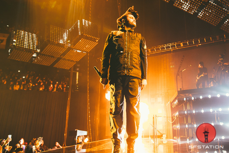 The Weeknd at Oracle Arena