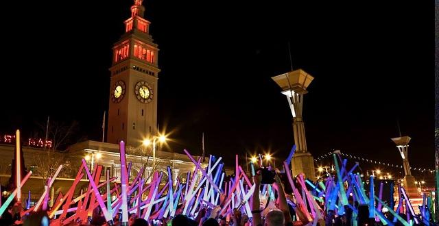 Participate in a Massive Lightsaber Battle at Justin Herman Plaza