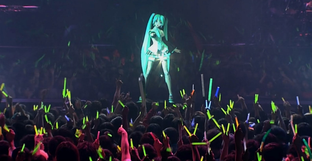 Japanese Hologram Pop Star Hatsune Miku Coming to the Warfield