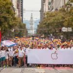 SF Pride Parade.  Photo by Pedro Peredes-Haz