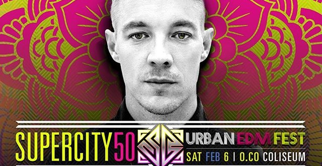 Super City 50 EDM Festival is a Win for Super Bowl Weekend (Diplo, Alesso, Chromeo)