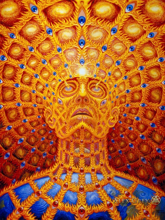 """Oversoul"" by Alex Grey, 1997"