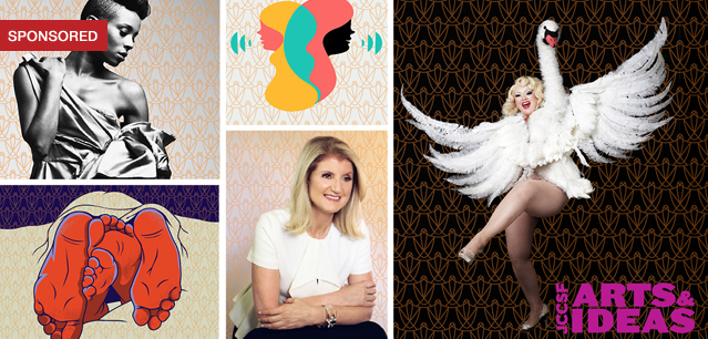 Arianna Huffington, Food Tastings, Music & Culture Take the Stage at Arts & Ideas Series