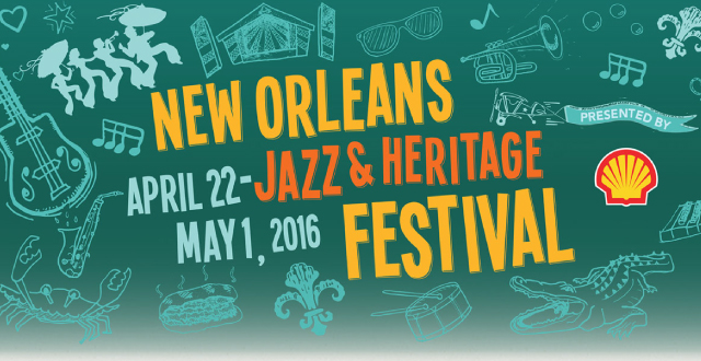 LINEUP ANNOUNCED: 47th Annual New Orleans Jazz Fest