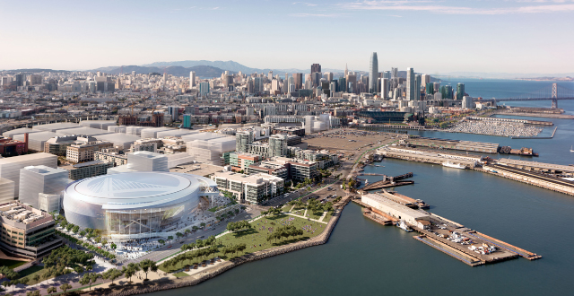 Just Announced: Golden State Warriors' SF Arena to be Named 'Chase Center'