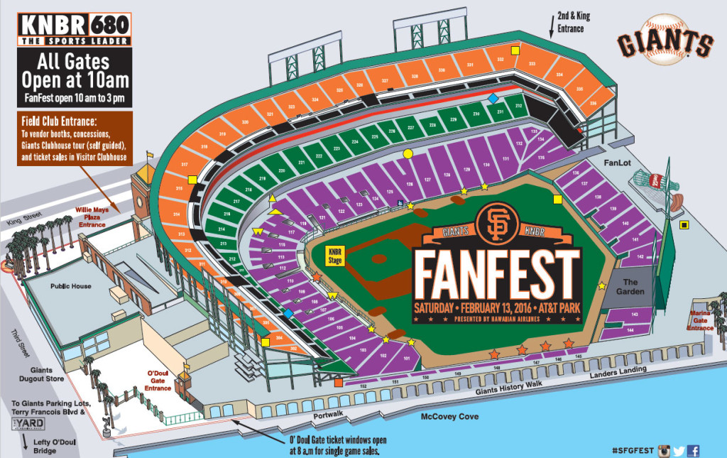 FanFest VDay for Those in Love with the Giants SF Station