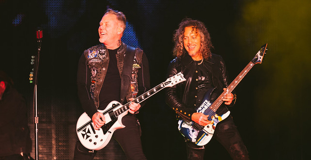 Photos: Metallica at AT&T Park The Night Before Super Bowl 50 in San Francisco
