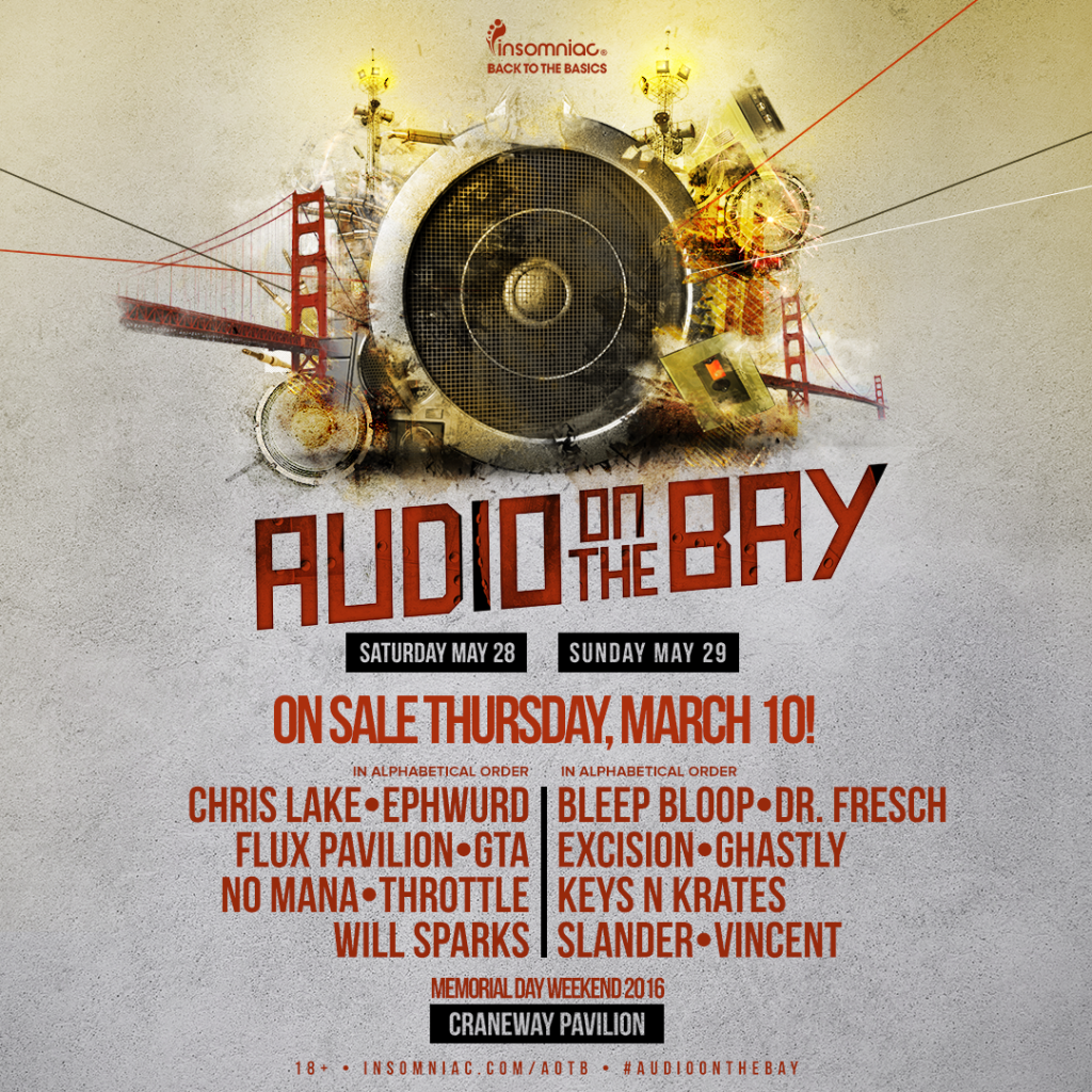 Audio On The Bay 2016 Lineup