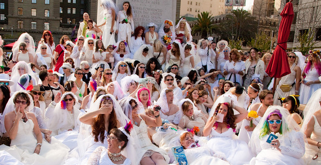The Brides of March Take to the Streets of SF – Photos
