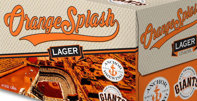 SF Giants-Themed Beer by Anchor Brewing Arrives in Time for Opening Day