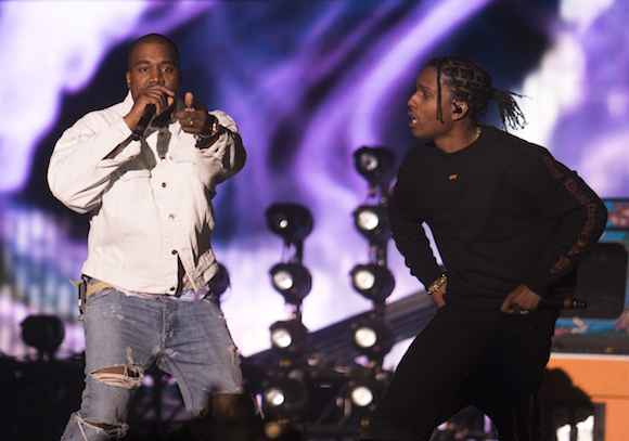 ASAP Rocky - Kanye - Outdoor - Performance