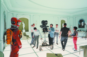 Stanley Kubrick during the production of 2001: A Space Odyssey. © Warner Bros. Entertainment Inc.