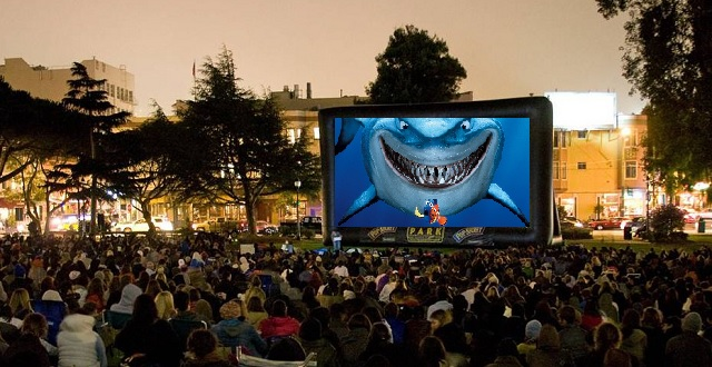 Free Outdoor Movie Nights: Oakland & SF