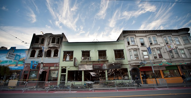 Secession Art & Neighborhood Support for Merchants Affected by Mission Bernal Fire