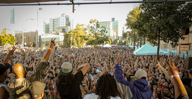 2012 'Hiero Day' block party in Oakland