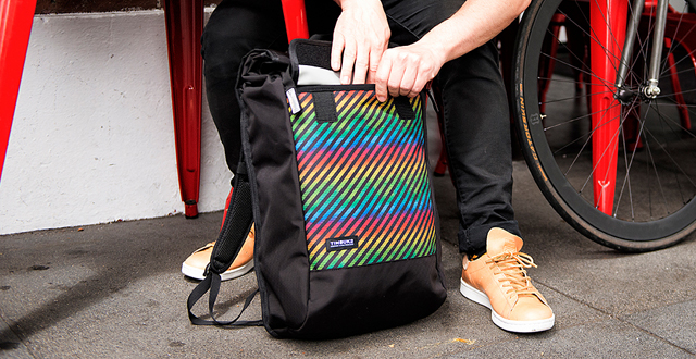 Win a Rainbow Pattern Pride Bag from Timbuk2, BARTable and SF Station