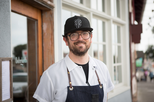 Chef Yoni Levy of Outerlands - San Francisco, CA