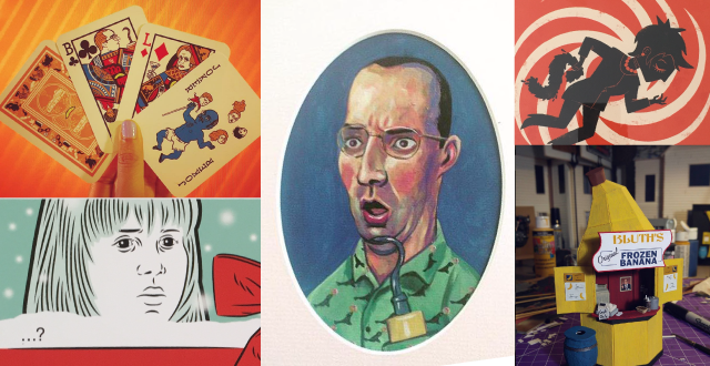 'No Touching' An Arrested Development Pop-Up Art Show Tribute at Heron Arts