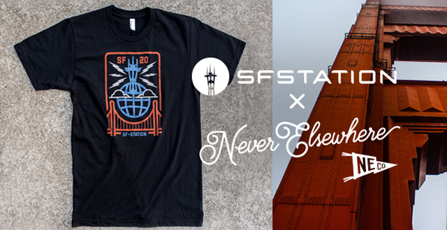 SF Station Partners with Never Elsewhere & Oaklandish for 20th Anniversary Design