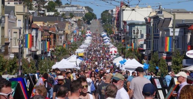 The Charismatic Castro Neighborhood's 43rd Annual Street Fair (Sunday)