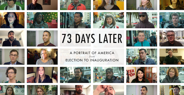 Local Filmmakers Collect Videos for '73 Days Later' Trump Documentary