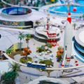 Miniature replica of Disneyland housed at the Walt Disney Family Museum