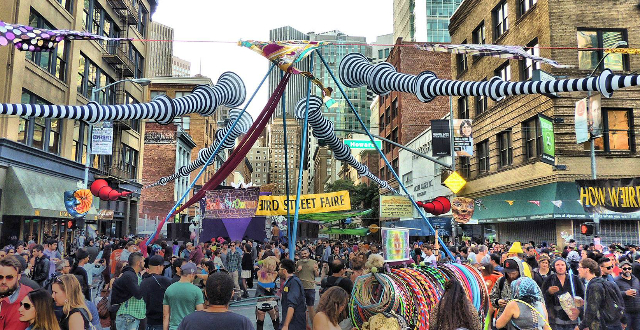 2017 How Weird Street Faire: Music, Visionary Art, Tech & Trippy Poster Art