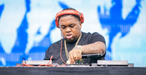 DJ Mustard at Outside Lands, photo by Abe Coloma