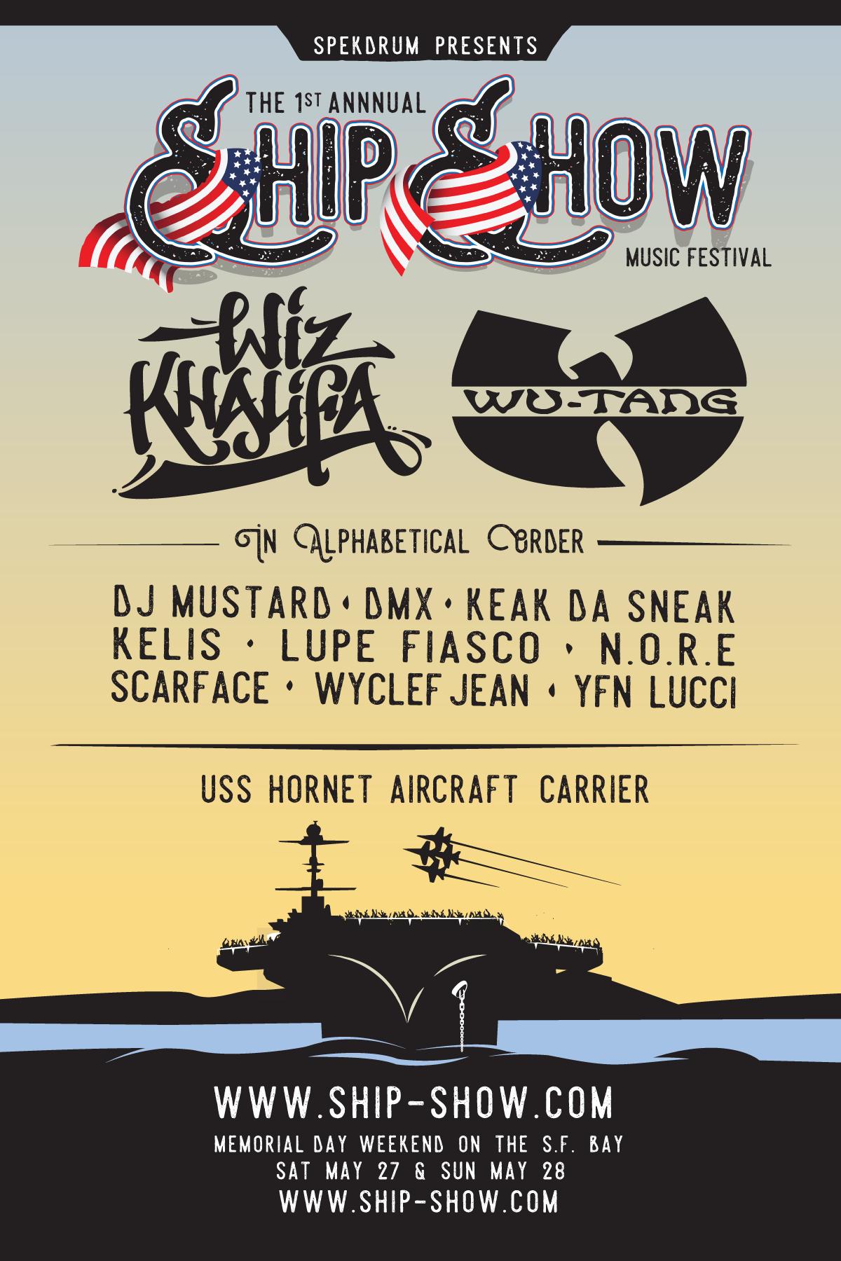 2-Day Festival Aboard Alameda's USS Hornet Headlined by Wiz ...