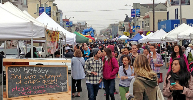 Photo:Clement Street Farmers' Market