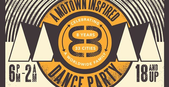 MOM 8yr Anniversary – World Famous Motown Inspired Dance Party at The Chapel