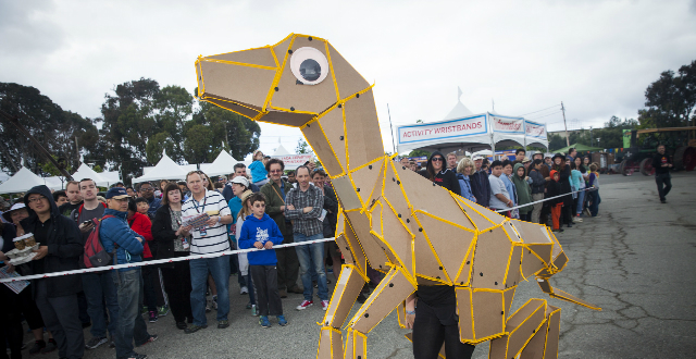 KitRex at Maker Faire Bay Area 2016, Photo: Becca Henry
