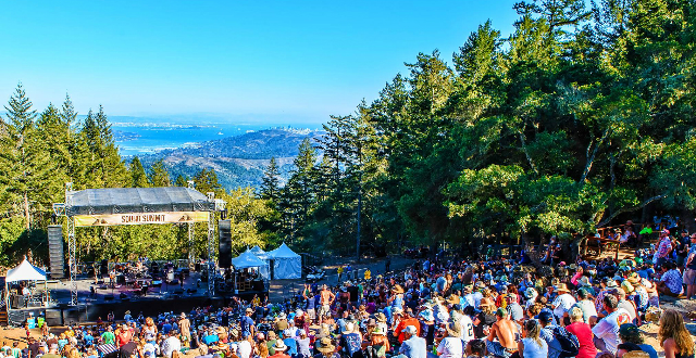 3rd Annual Sound Summit on Mount Tam Invites Phil Lesh & Bob Weir as Headliners