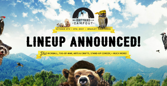 Dirtybird Campout 2017 Reveals Full Lineup
