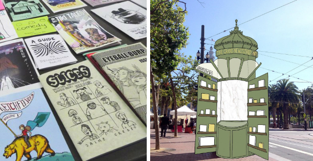 Six Upcoming Events for Small Press, Zine & Comic Book Fans (SF Zine Fest & More)