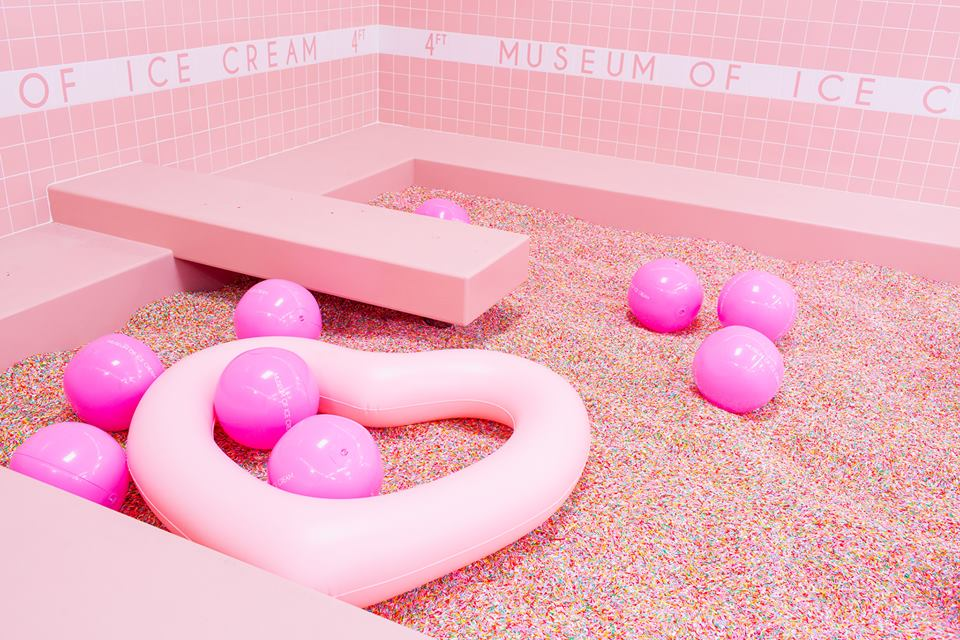 Image courtesy of Museum of Ice Cream Facebook Page