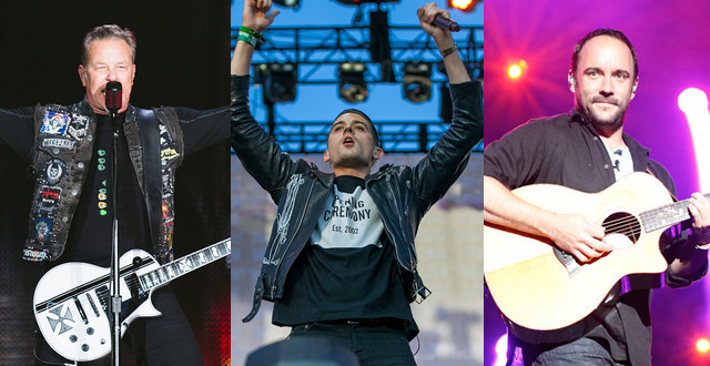 Metallica, G-Eazy, and Dave Matthews to Play Benefit Concert for Fire Relief at AT&T Park