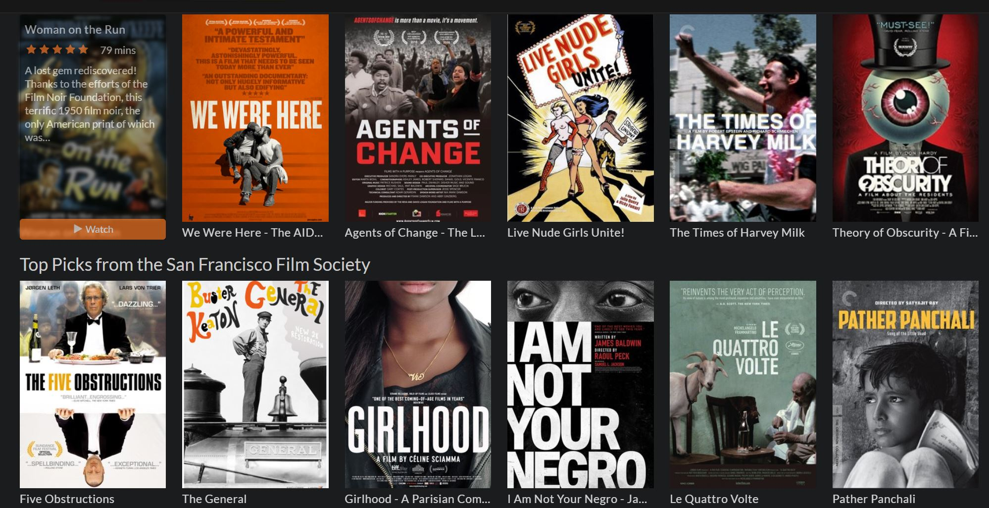 SF Public Library Users Now Have Access to 30,000 Films via 'Kanopy' Streaming Video Platform