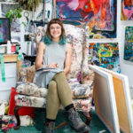 Abby Gregg Studio, Photograph by Drew Altizer, via SFAI FB Official