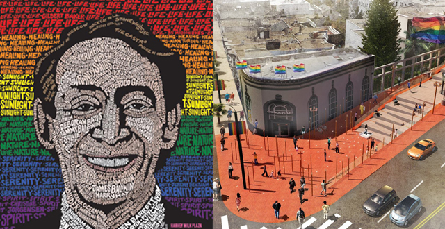 Honoring Harvey Milk: A Day of Remembrance, Illuminated Art Installation & Harvey Milk Plaza Re-Imagined