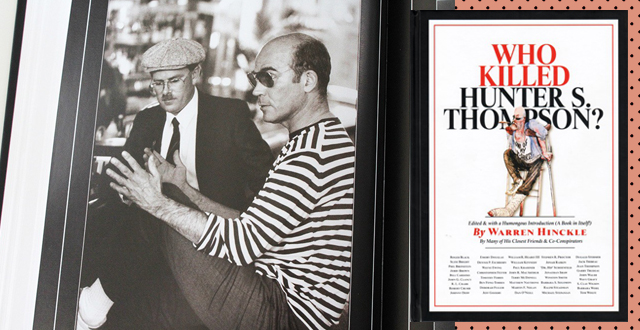 'Who Killed Hunter S. Thompson?' The Long-Awaited Mega Book Release by Last Gasp Publishing
