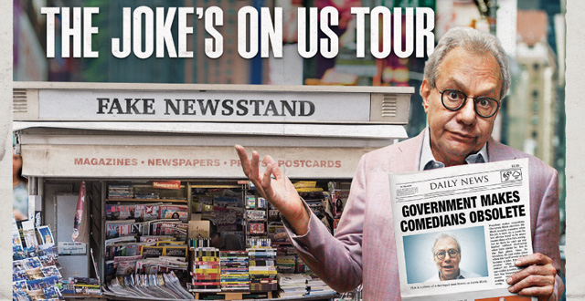 Win Tickets: Lewis Black: The Joke's On US Tour at Zellerbach Hall