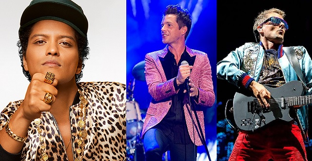 Bruno Mars, The Killers and Muse Headline This Year's Bottle Rock