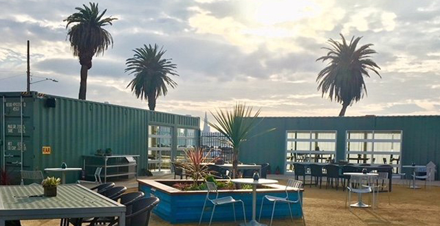 The Latest from Treasure Island: New Shipping Container Restaurant & Bar 'Mersea' Set to Open