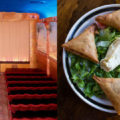 Left: Grand Lake Theater Right: Cafe Romanat