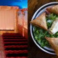 Left: Grand Lake Theater Right: Cafe Romanat