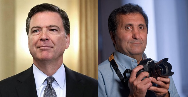 James Comey & Pete Souza Headline Curran Theater's SHOW & TELL Speaker Series